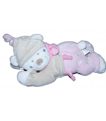 doudou-peluche-musicale-ours-rose-beige-nicotoy-28-cm-5793670