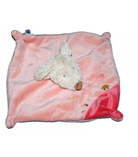 Doudou plat souris rose Tex Baby Carrefour T128122