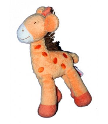 doudou-girafe-orange-laine-marron-orchestra-26-cm