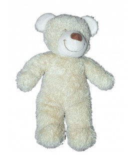 Doudou Ours beige TEX Baby Carrefour 28 cm