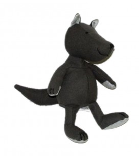 Doudou loup gris Jacadi 26 cm