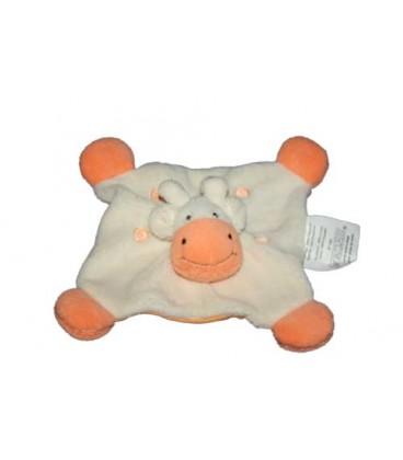 Babou Doudou plat girafe jaune orange fluo jaune n°1583