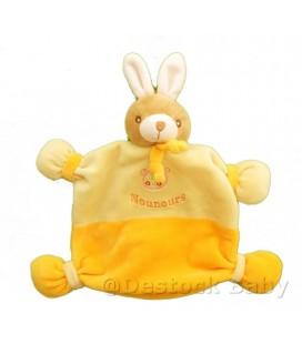 doudou-plat-lapin-jaune-orange-nounours