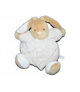 doudou-lapin-kaloo-beige-blanc-coll-plume-25-cm