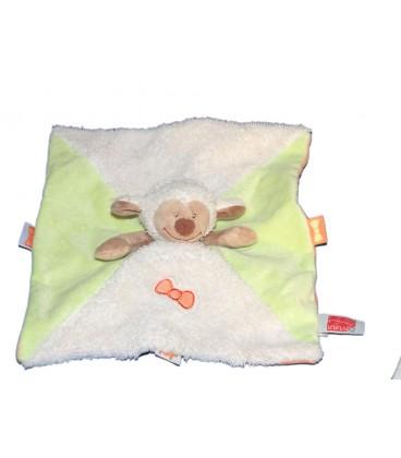 doudou-plat-mouton-blanc-vert-influx-cora