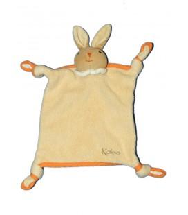 kaloo-doudou-lapin-plat-orange