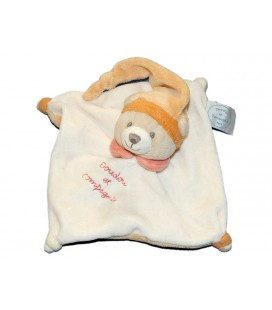 doudou-et-compagnie-ours-plat-blanc-orange-carre-15-x-15-cm-mini-doudou