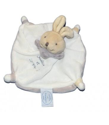 doudou et compagnie mini doudou acidul tatoo ours blanc gris 15 cm. Black Bedroom Furniture Sets. Home Design Ideas