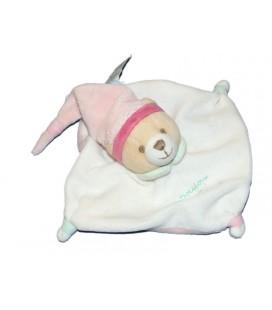 doudou-et-compagnie-mini-doudou-ours-blanc-rose-15-cm