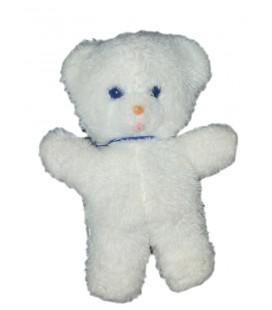 Peluche ours blanc Boulgom Grelot 23 cm VINTAGE - Rare et Collector