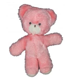 peluche-ours-rose-boulgom-grelot-23-cm