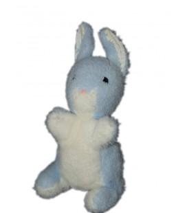 peluche-lapin-bleu-blanc-prenatal-thiennot-25-cm-vintage-rare-et-collector