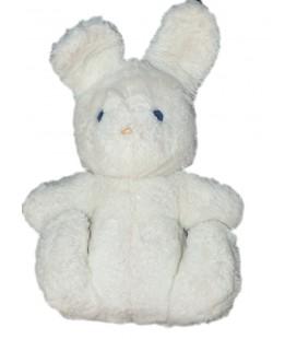 Peluche Lapin blanc Boulgom 22 cm Grelot