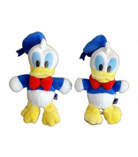 LOT - 2 x Peluche Doudou DONALD - Mickey Club House - Disney Nicotoy 24 cm