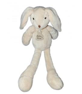 Histoire D'ours - Pantin Lapin blanc écru crème 38 cm