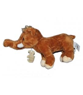 histoire-d-ours-peluche-doudou-elephant-marron-16x25-cm