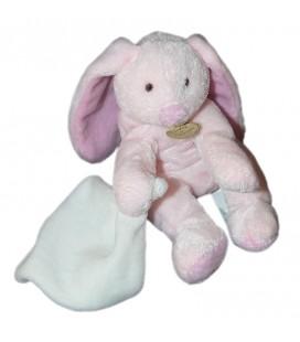 doudou-et-compagnie-ours-rose-mon-doudou-mouchoir-blanc