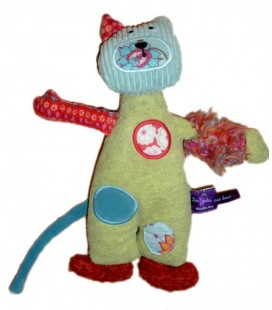 Doudou CHaT Les Jolis pas Beaux - MOULIN ROTY - 1681T-MR1