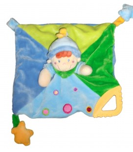 doudou-plat-clown-lutin-bleu-vert-mots-d-enfants-attache-tetine-anneau-dentition-5797060