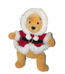 peluche-winnie-pere-noel-disney-disneyland-paris-40-cm