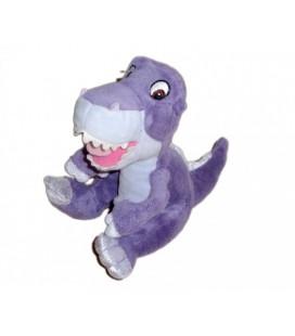 Doudou peluche LE PETIT DINOSAURE violet mauve - Gipsy - 18 cm
