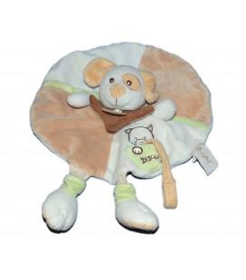 doudou-plat-chien-rond-beige-blanc-vert-biscuit-chat-babynat