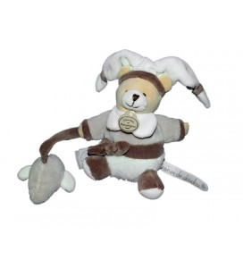 DOUDOU ET COMPAGNIE Ours Mario Mini Pantin Graines de doudou Souris DC2275