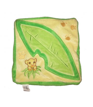 doudou-plat-simba-feuille-jaune-vert-le-roi-lion-disney-disneyland-paris