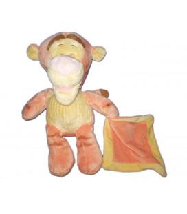 Doudou Peluche TIGROU Mouchoir jaune orange Disney Nicotoy 32 cm 587/9660