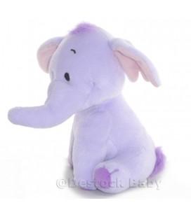Doudou peluche LUMPY Efelant Elephant mauve 19 cm Disney fisher Price Mattel