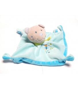 doudou-plat-ours-bleu-papillon-tex-baby-cmi-carrefour-echarpe-verte