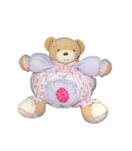 kaloo-peluche-doudou-ours-boule-rose-poche-lilirose-22-cm