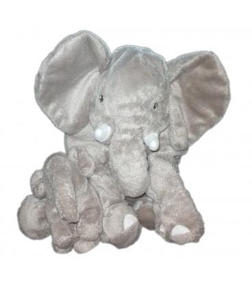 peluche doudou elephant gris kapplar elefant ikea 30 cm et son b b. Black Bedroom Furniture Sets. Home Design Ideas