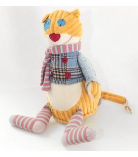 doudou-peluche-chat-orange-les-deglingos-30-cm
