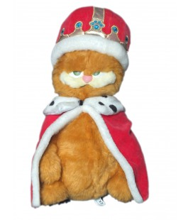 peluche-garfield-2-roi-40-cm-rare-et-collector-