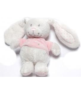 doudou-lapin-blanc-rose-etoiles-18-cm-tex-baby-carrefour
