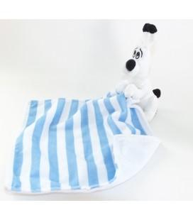 doudou-idefix-mouchoir-blanc-bleu-rayures-parc-asterix