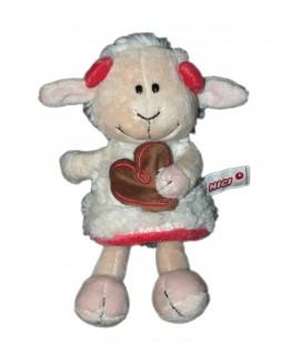 Doudou Mouton Nici Coeur