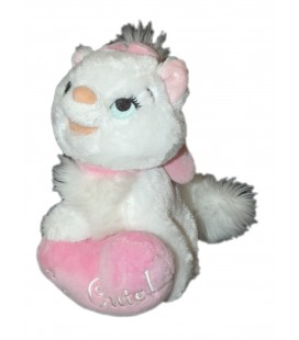 Peluche Chaton Marie Les Aristochats Coeur So Cute Disney