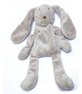 Doudou lapin gris DPAM Du Pareil au Même 32 cm