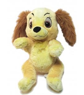 Disney Nicotoy Doudou plat chien La Belle et le Clochard