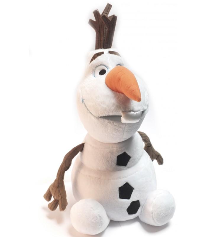 Peluche olaf bonhomme de neige la reine des neiges 45 cm - Bonhomme de neige olaf ...