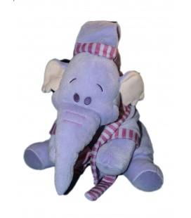 Doudou peluche Lumpy 25 cm Disney Nicotoy Bonnet robe de chambre peignoir