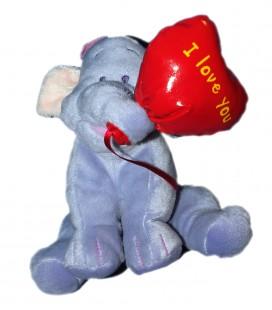 Lumpy Peluche doudou Coeur I Love You 14 cm Disney Nicotoy 587/9320