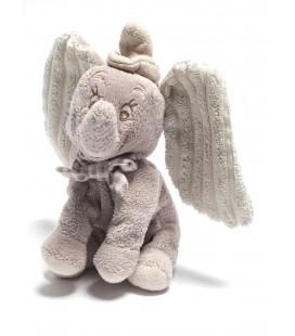 Peluche Doudou DUMBO L'ELEPHANT VOLANT Disney Nicotoy H 24 cm Noeud Papillon carreaux