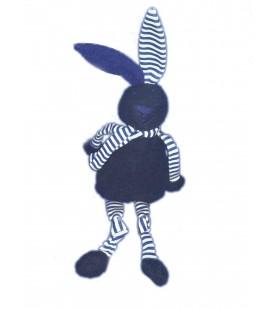 doudou-lapin-bleu-marine-blanc-rayures-bout-chou-monoprix