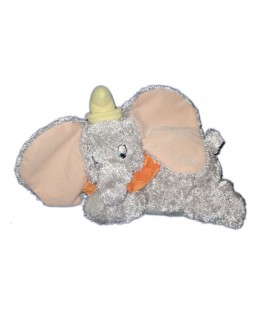 Peluche Doudou Dumbo Disney Nicotoy 30 cm Collerette orange 587/4203