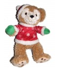 collector-peluche-doudou-ours-duffy-pull-rouge-pere-noel-30-cm