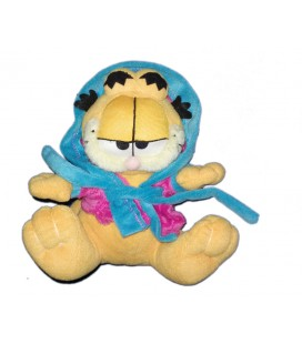 peluche-doudou-chat-garfield-peignoir-17-cm-pts-srl