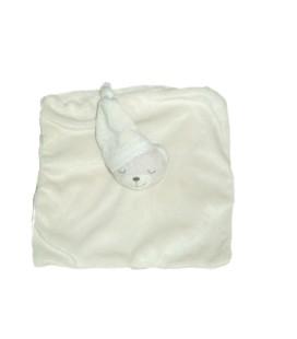 doudou-plat-ours-dormeur-bonnet-kimbaloo-la-halle-blanc-casse-ecru-jaune-clair
